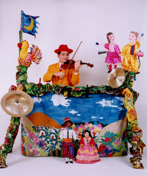 バイオリン 人形劇
