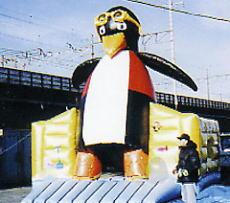 ふわふわペンギン