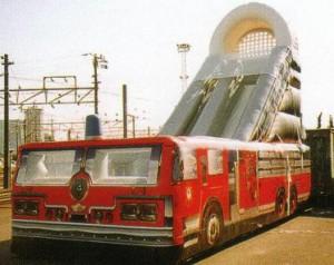 NY消防車スライダー
