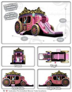 プリンセス馬車